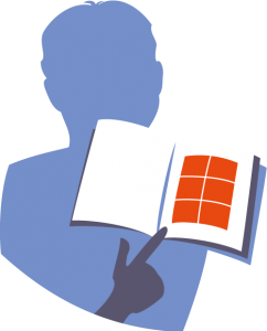 Illustration d'un livre ouvert signifiant la conclusion du propos