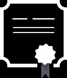 Diplôme pour la certification