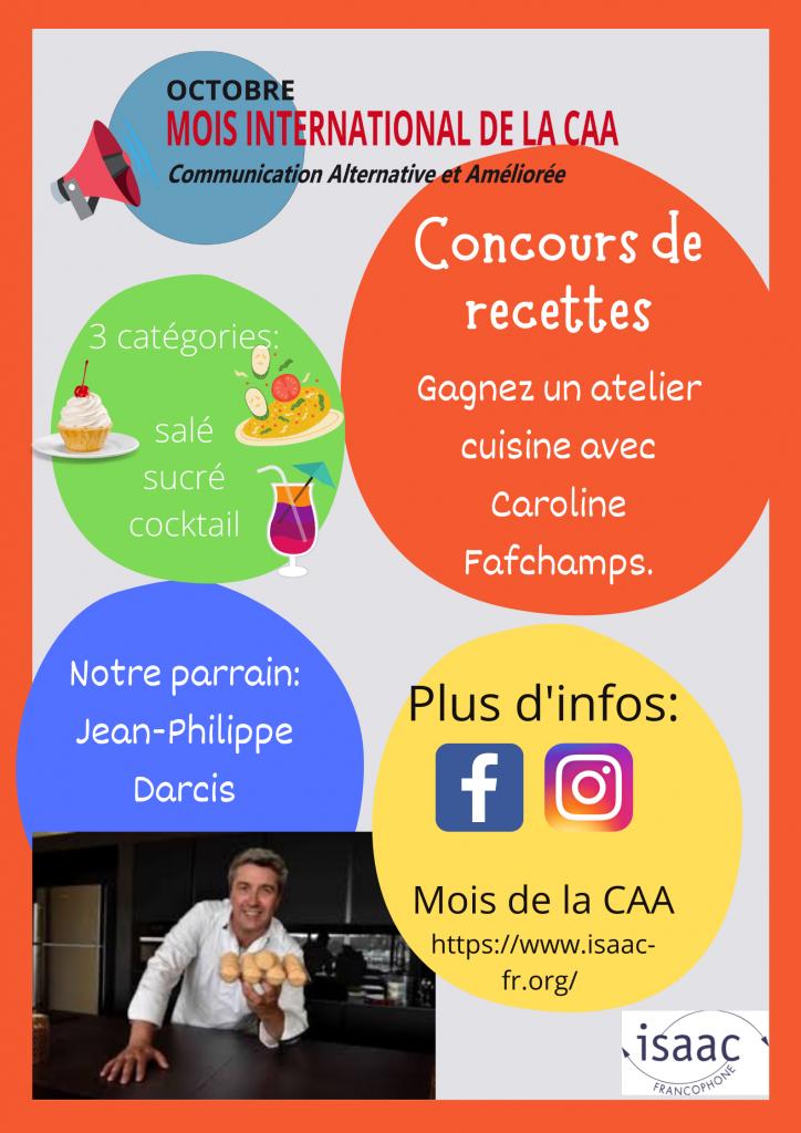Mois de la CAA - Concours Cuisine